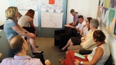 Participants of the Rome meeting on communication and partnership (photo credit: E. Le Borgne / ILRI)